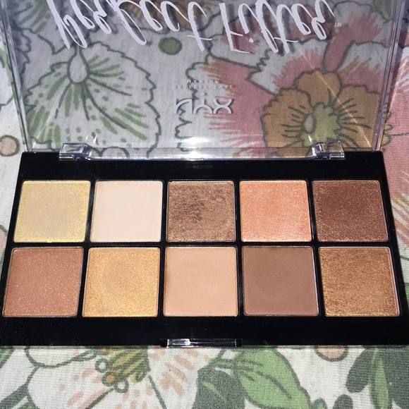 NYX Perfect Filter Palette in Golden Hour